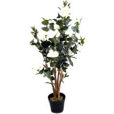 Artificial Yellow Rose Tree