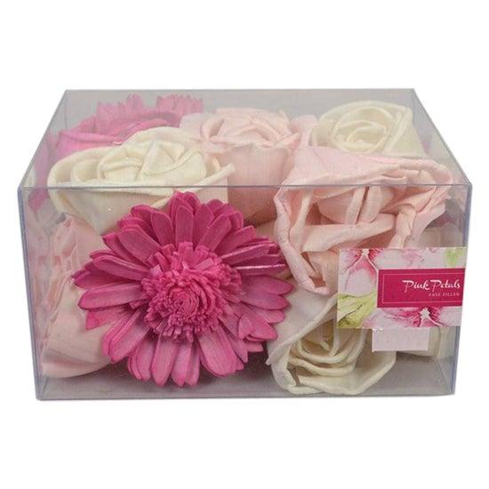 Watercolour Pink Petals Vase Filler