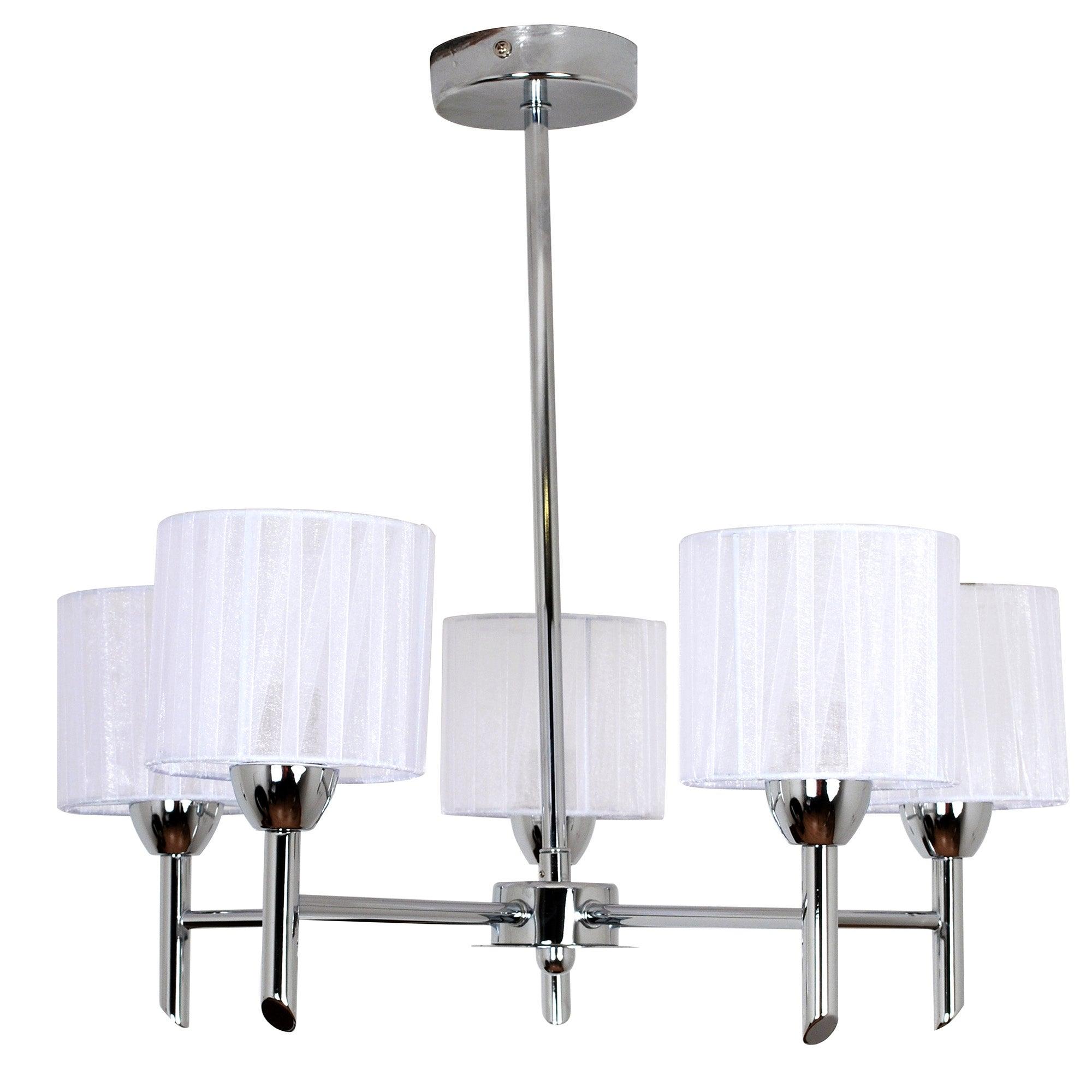 erin 5 light ceiling fitting dunelm. Black Bedroom Furniture Sets. Home Design Ideas