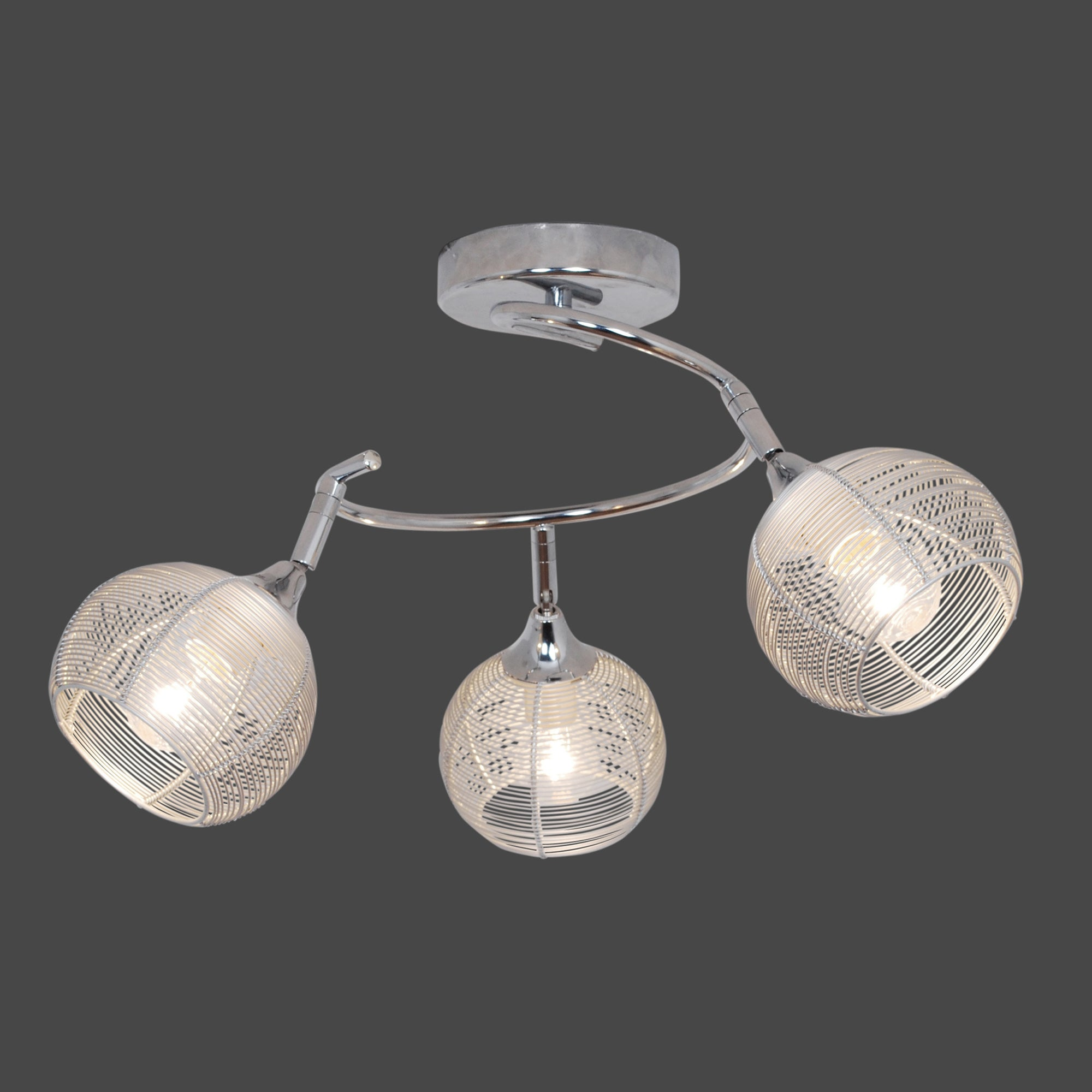 Frankie 3 Light Ceiling Fitting