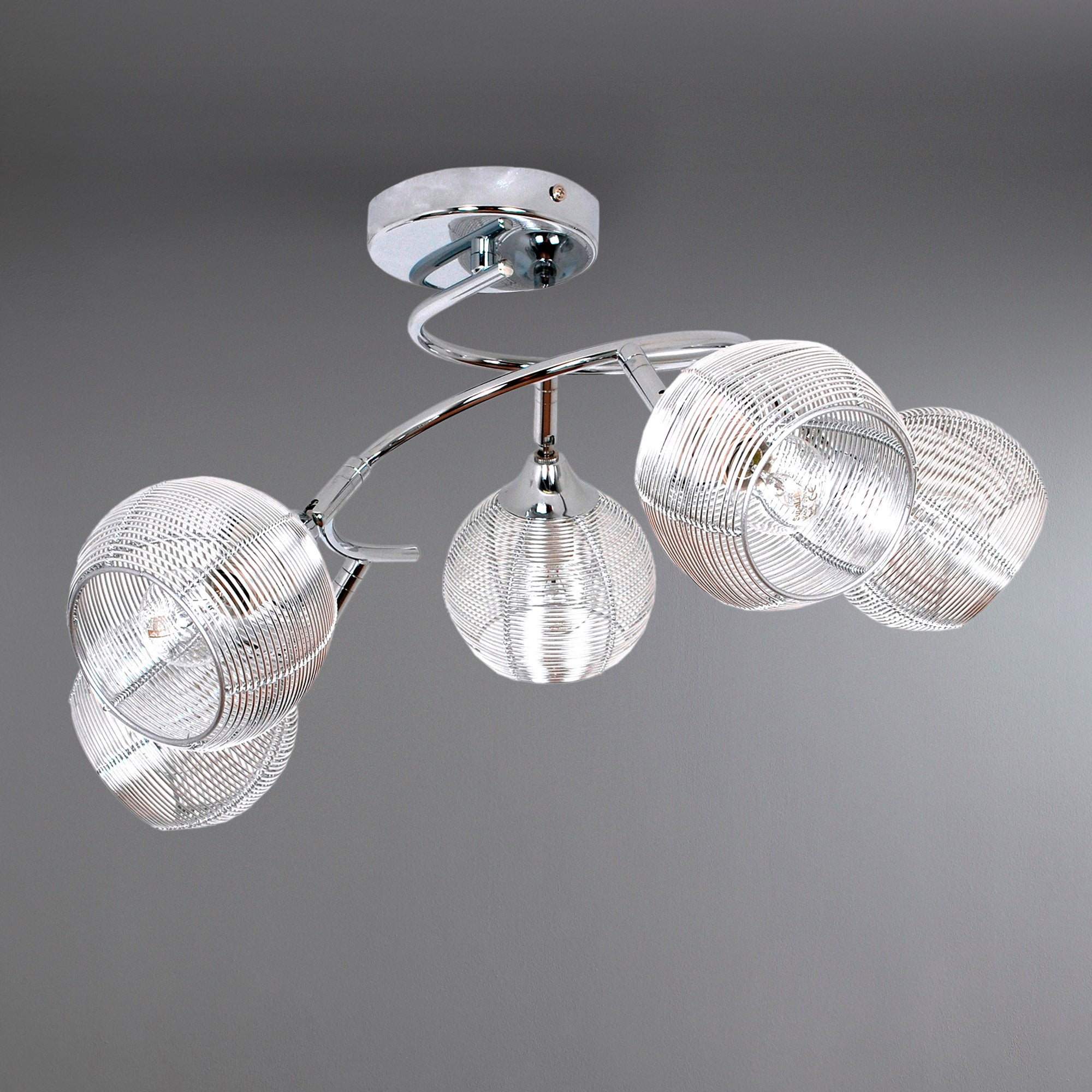 Frankie 5 Light Ceiling Fitting