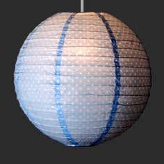 Blue Molly Floral Lantern