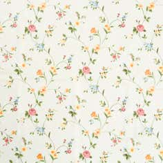 Traditional Floral PVC Fabric