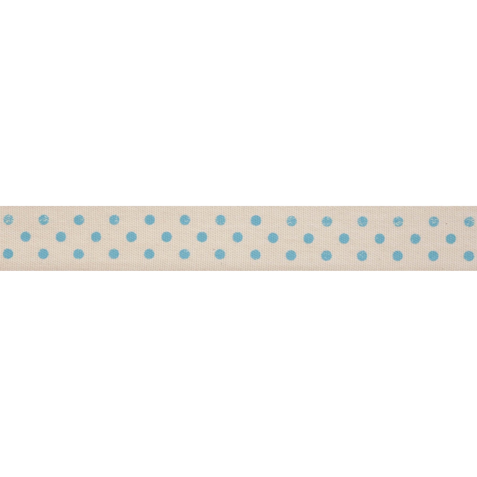 Bowtique Blue Dot Ribbon