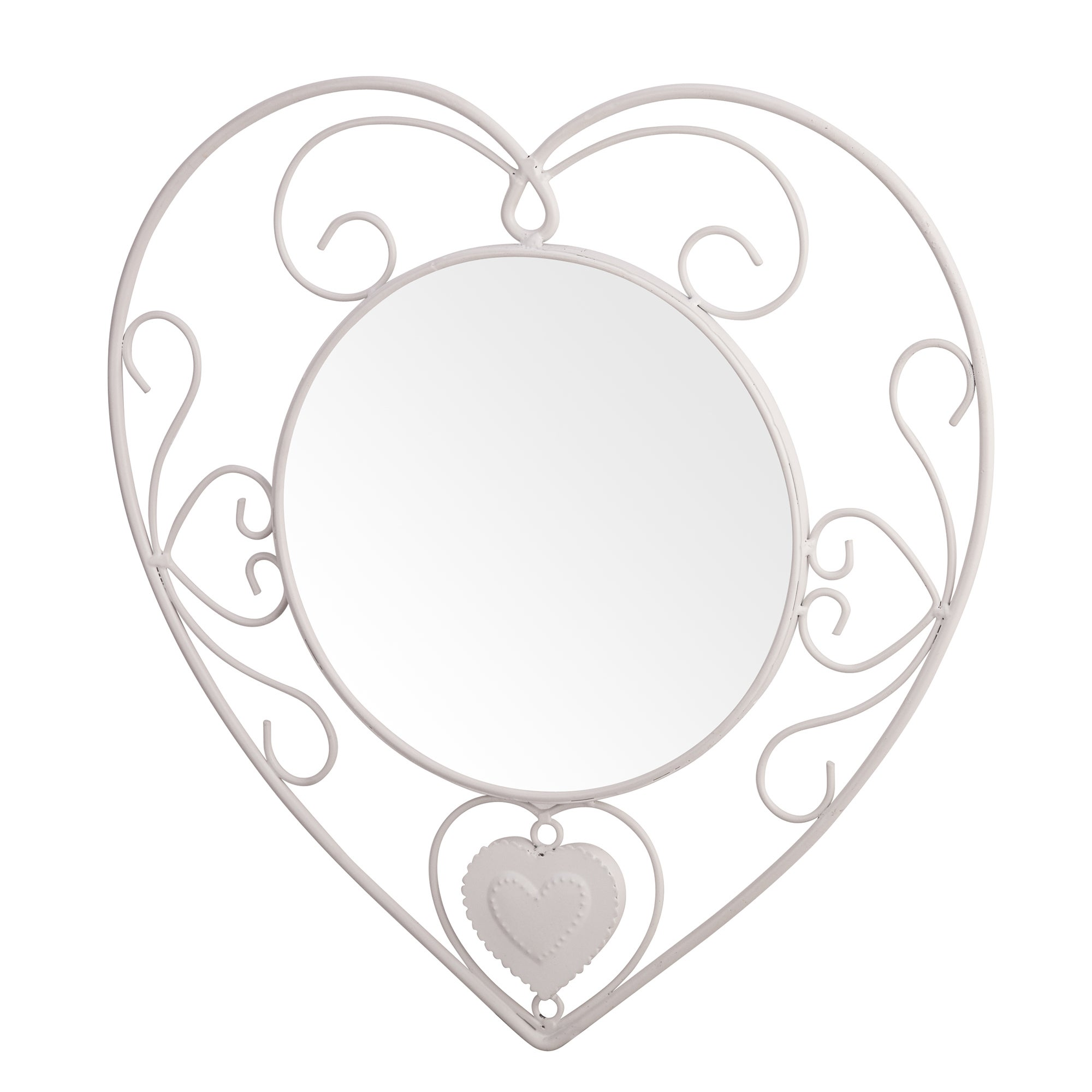 Vintage Heart Collection Wall Mirror
