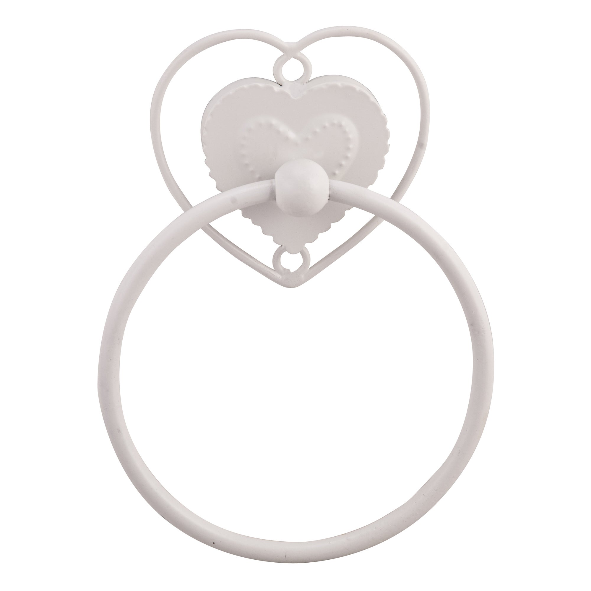 Vintage Heart Towel Ring