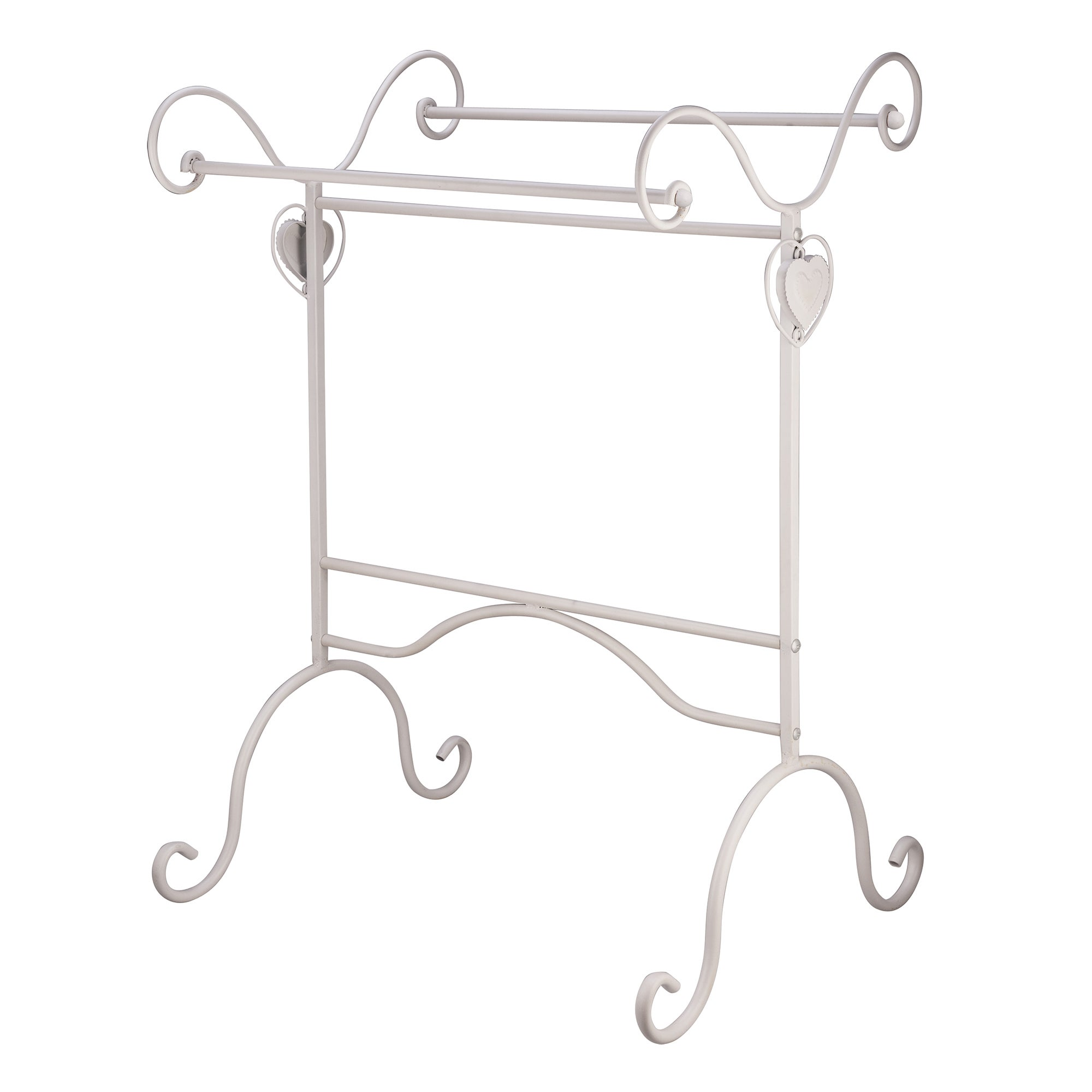Vintage Heart Collection Towel Stand