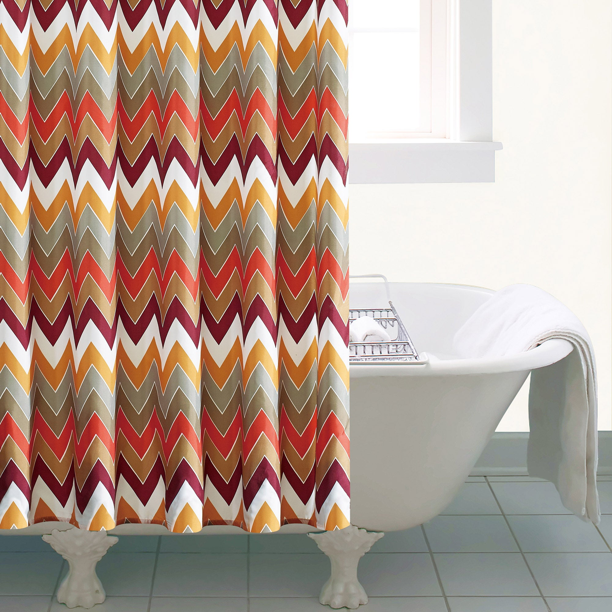 Tribal Shower Curtain