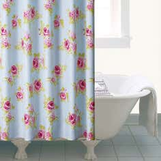 Rose and Ellis Clarendon Collection Shower Curtain