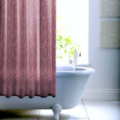 Boudoir Damask Mauve Shower Curtain
