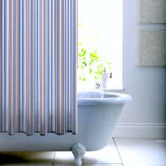 Hamptons Stripe Shower Curtain