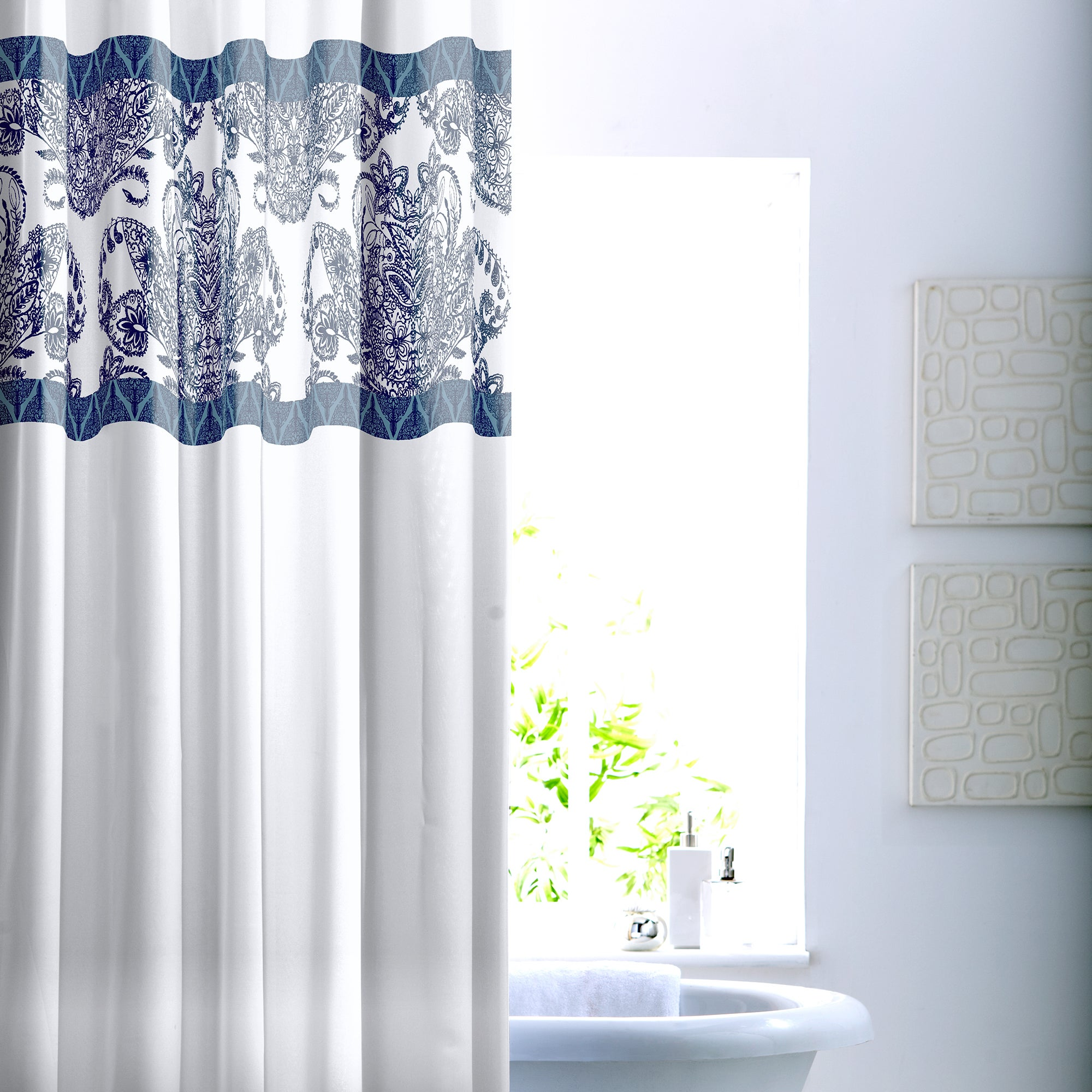Indigo Bazaar Shower Curtain