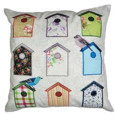 Bird Houses Cushion