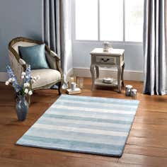 Duck Egg Willow Wool Rug