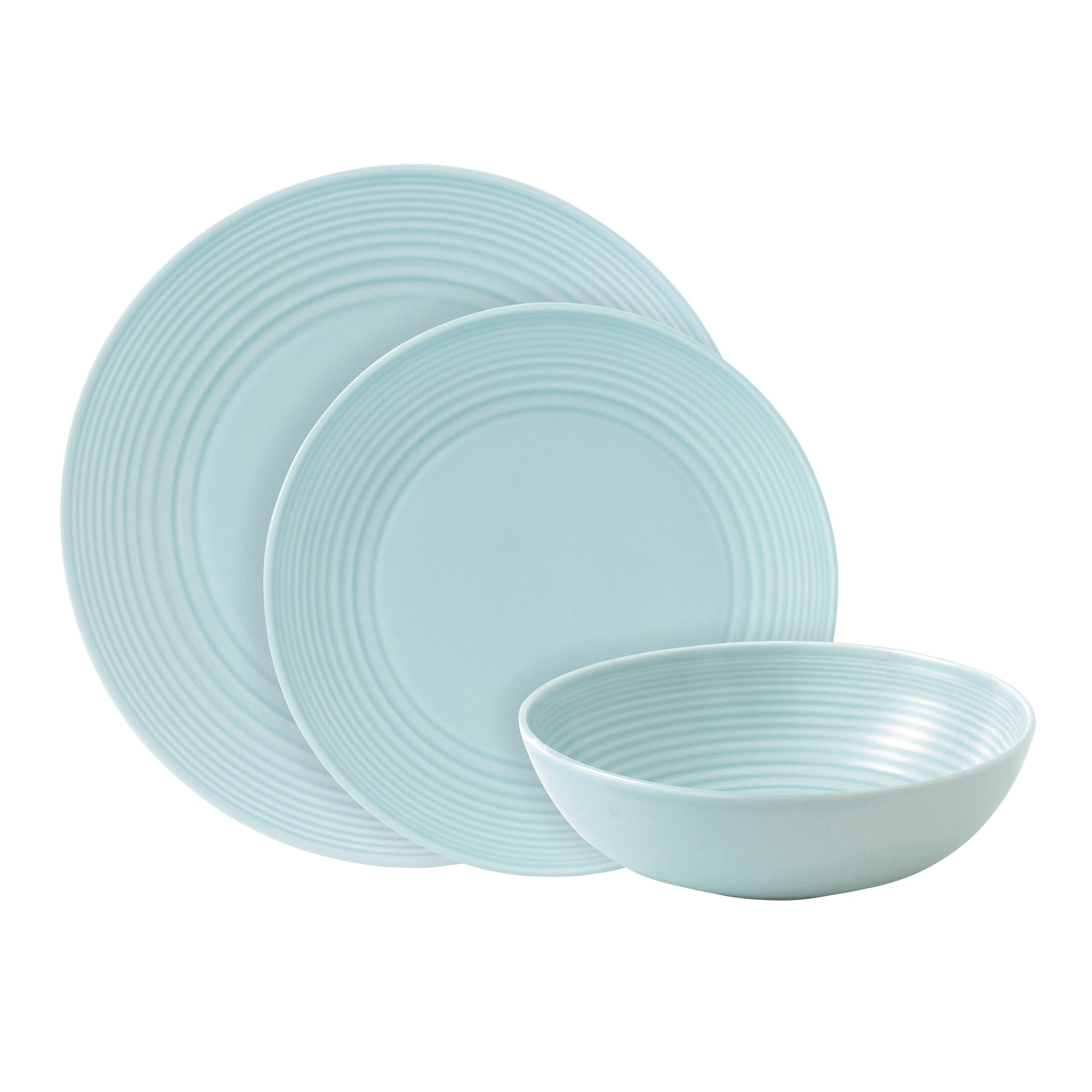 Blue Gordon Ramsay Maze Collection 12 Piece Dinner Set