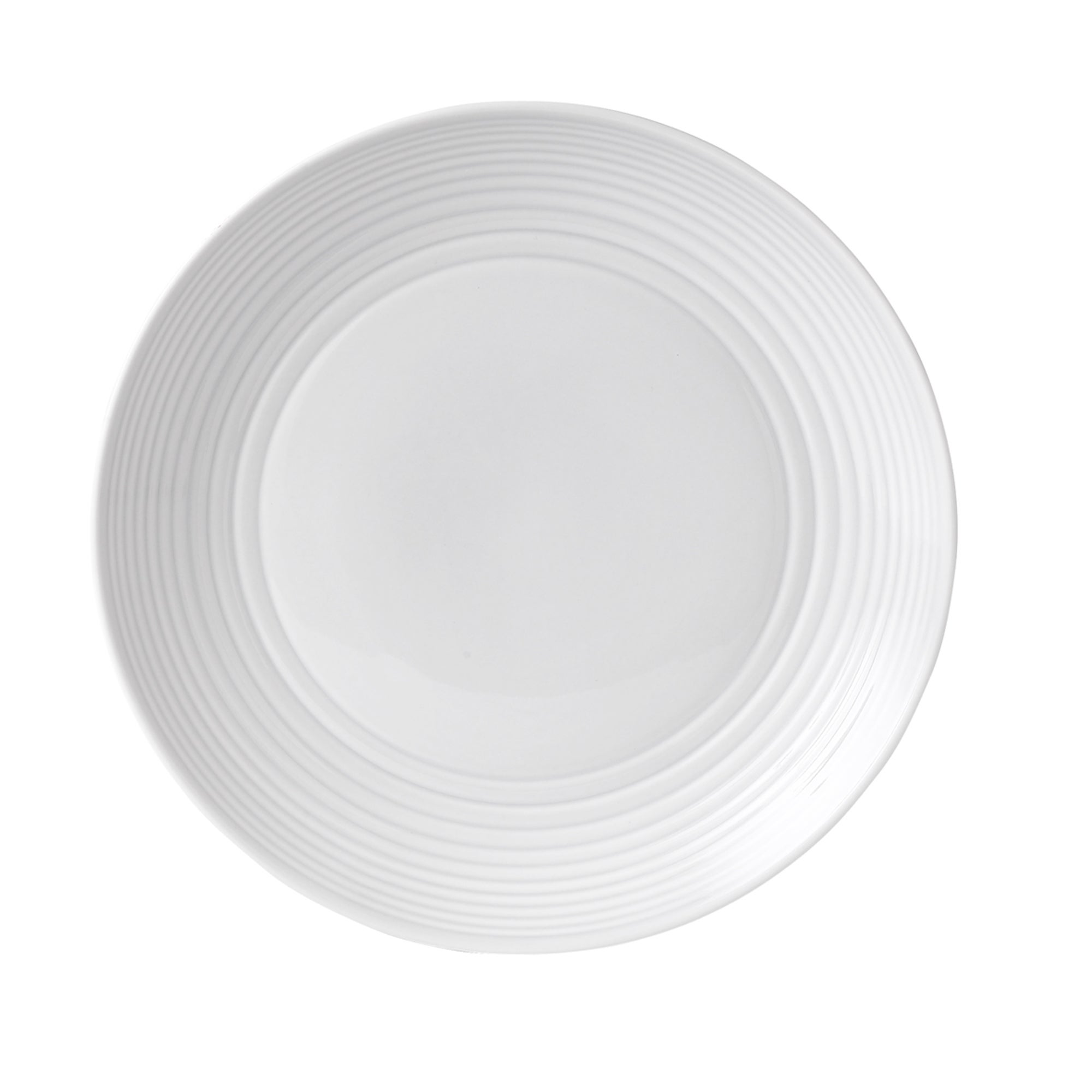 White Gordon Ramsay Maze Collection Dinner Plate
