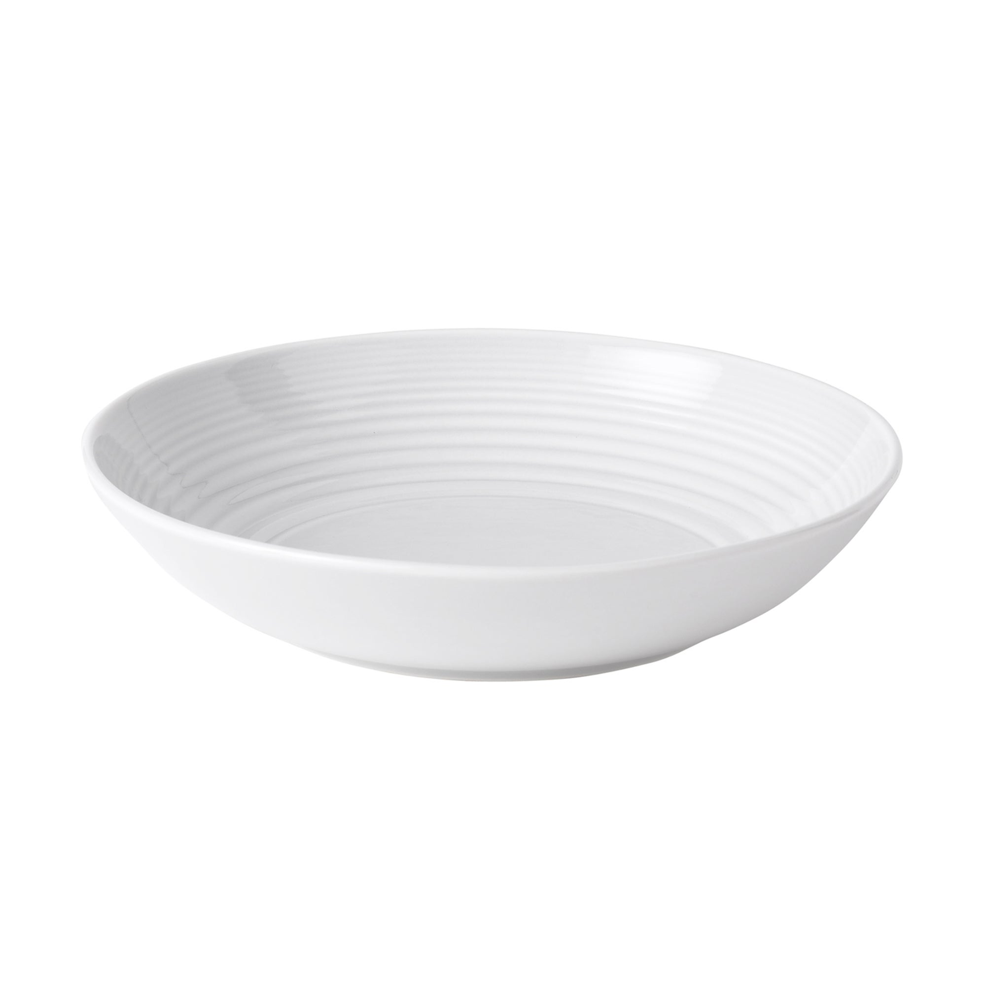 White Gordon Ramsay Maze Collection Pasta Bowl
