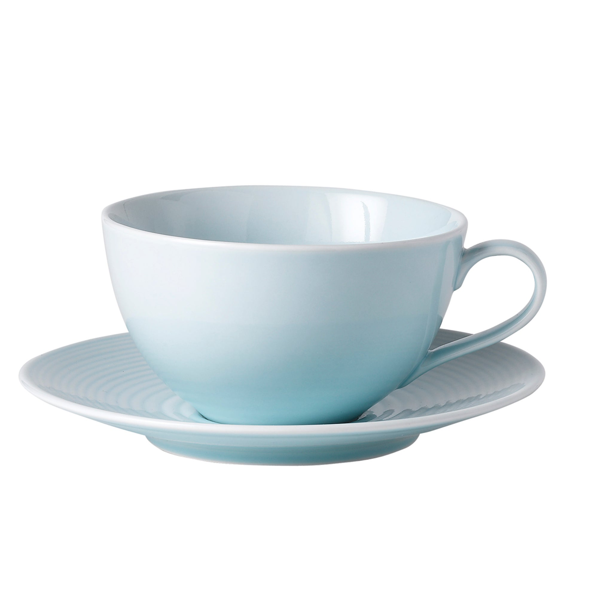Blue Gordon Ramsay Maze Collection Cup and Saucer Set