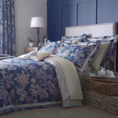 Dorma Blue Samira Collection Quilt Cover Set