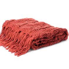 The Hamptons Collection Chunky Knit Throw