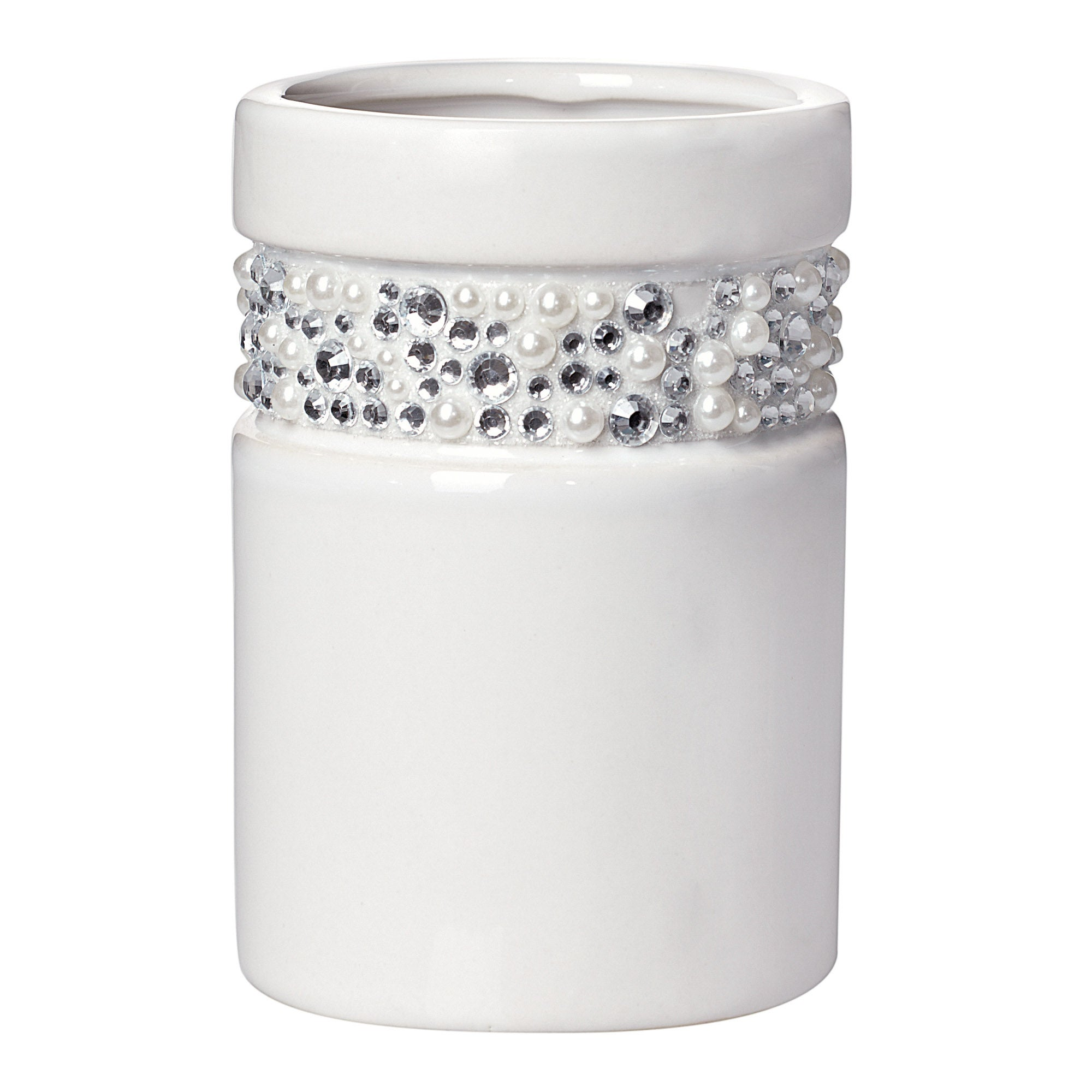 Diamante White Tumbler