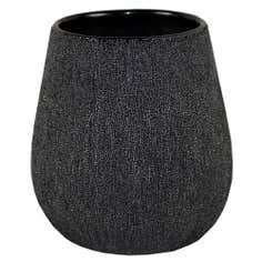 Sparkle Black Toilet Brush Holder