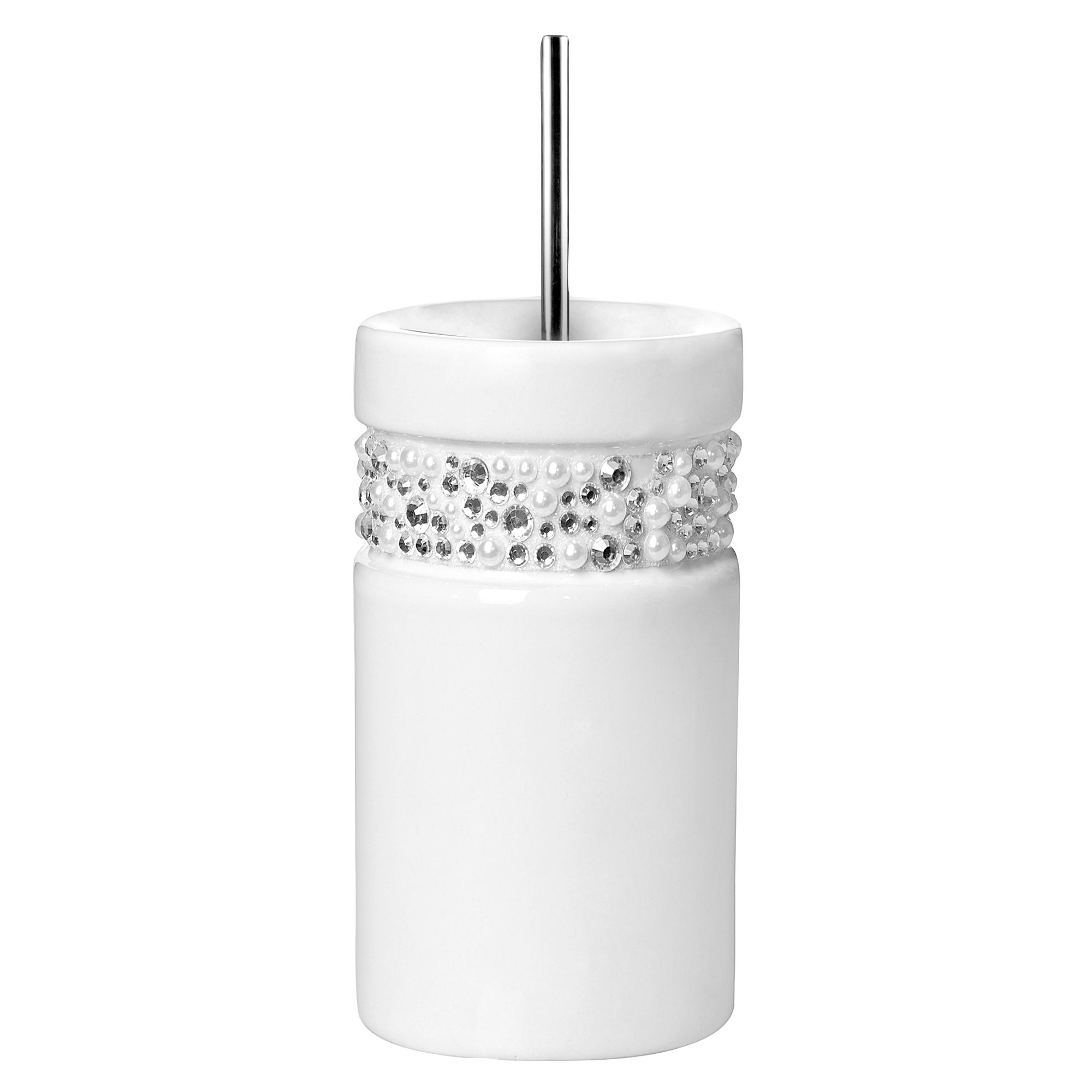 Diamante Toilet Brush Holder