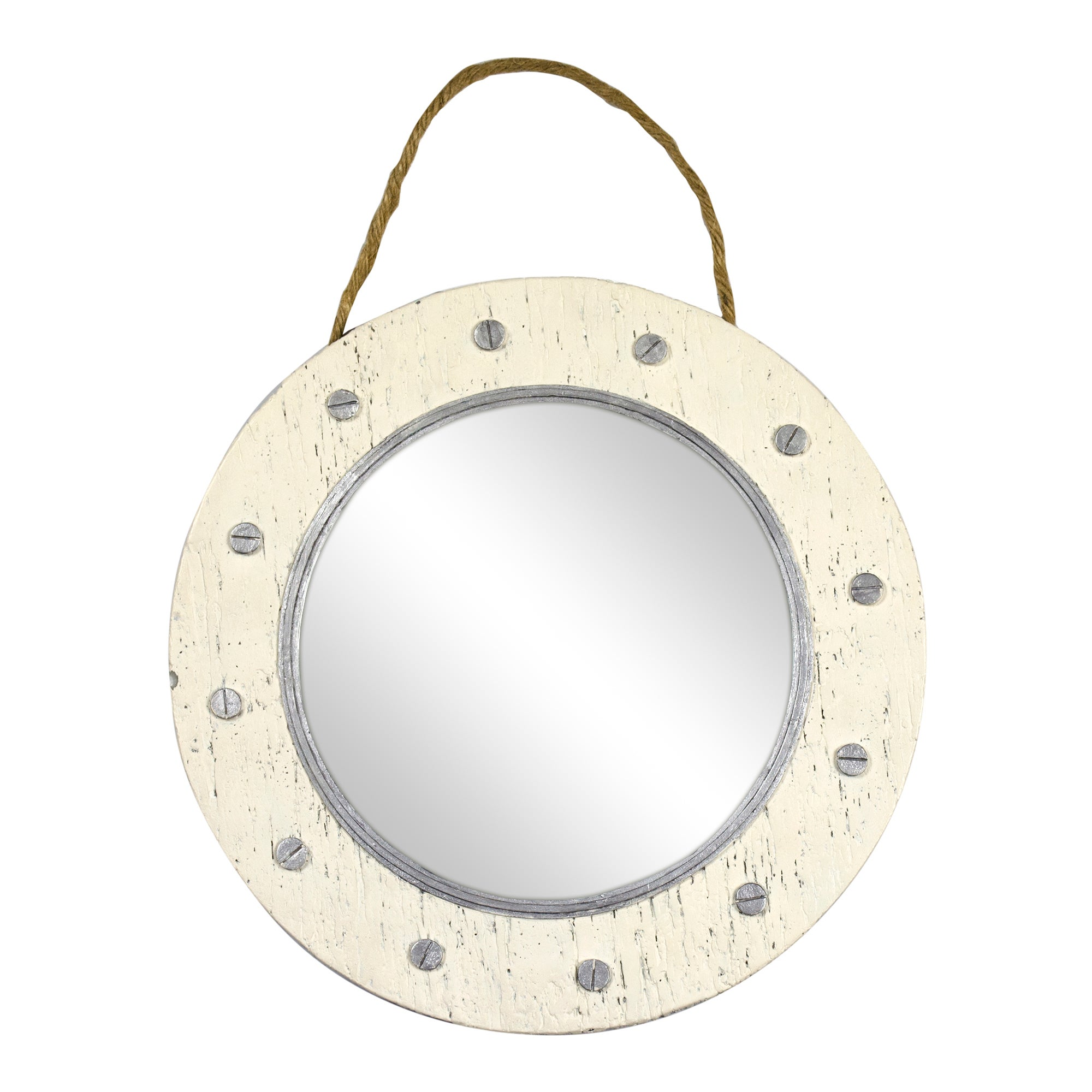 Hamptons Collection Porthole Mirror