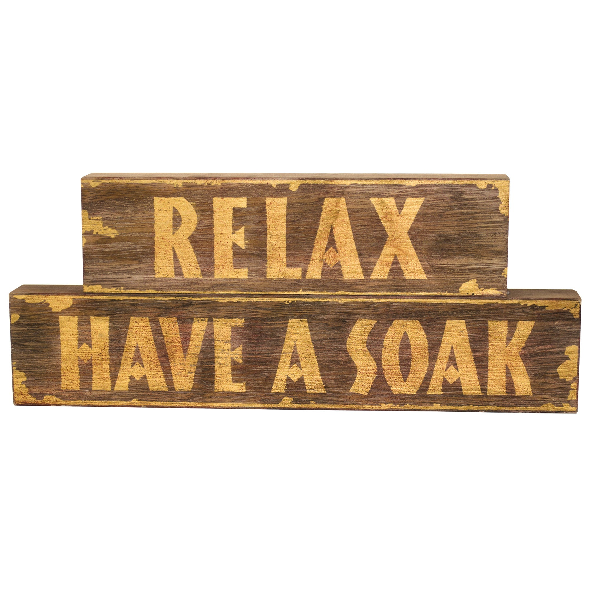 Tribal Collection Wooden Word Block