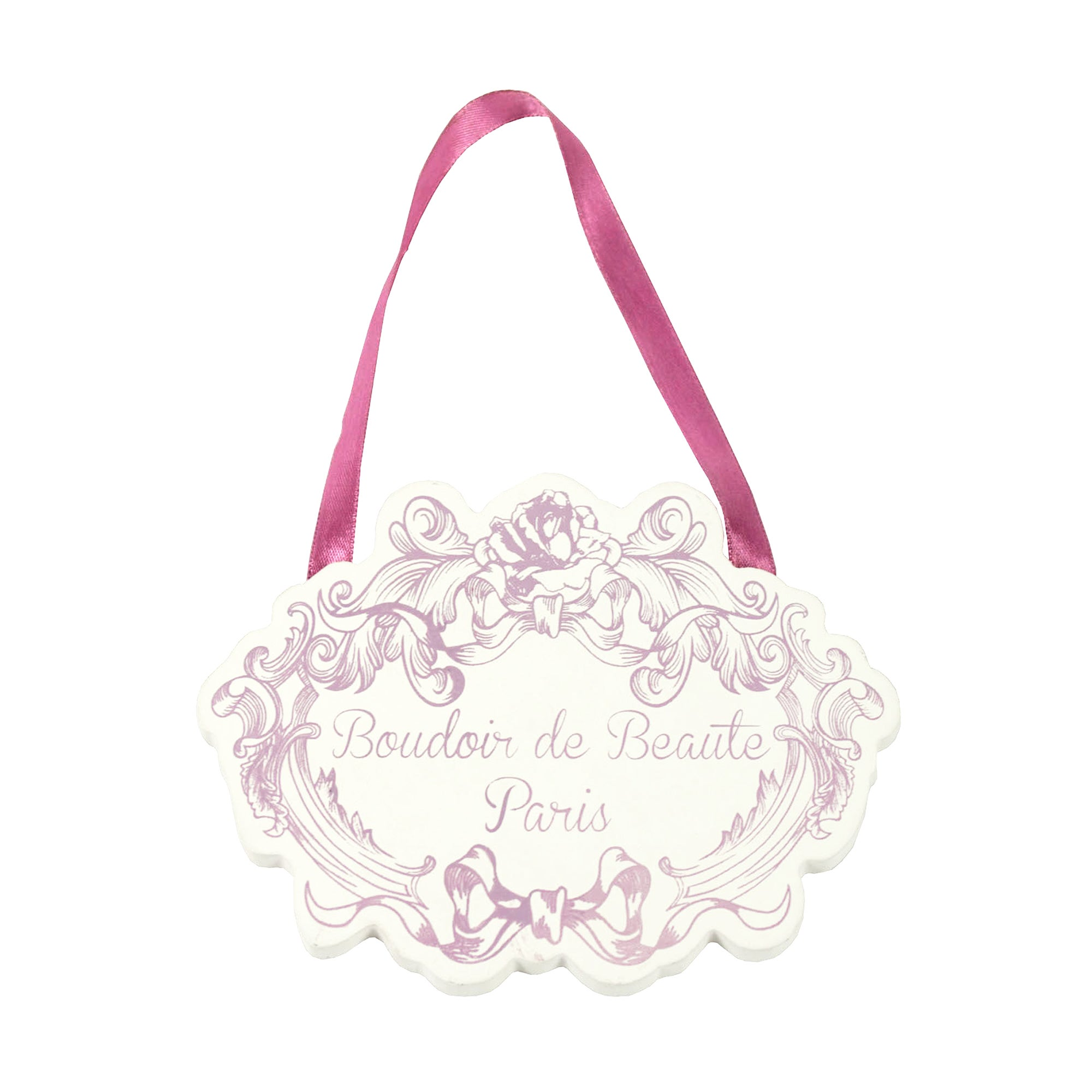 Boudoir Collection Hanging Plaque