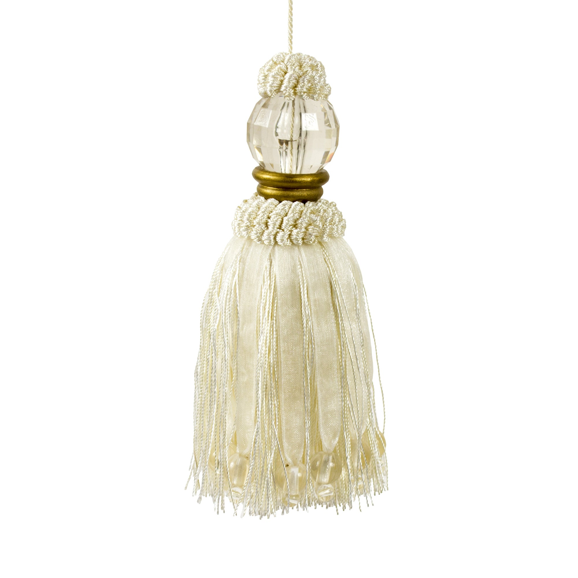 Golden Blush Tassle Light Pull