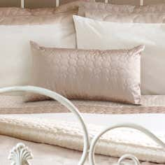 Latte Circles Collection Boudoir Cushion