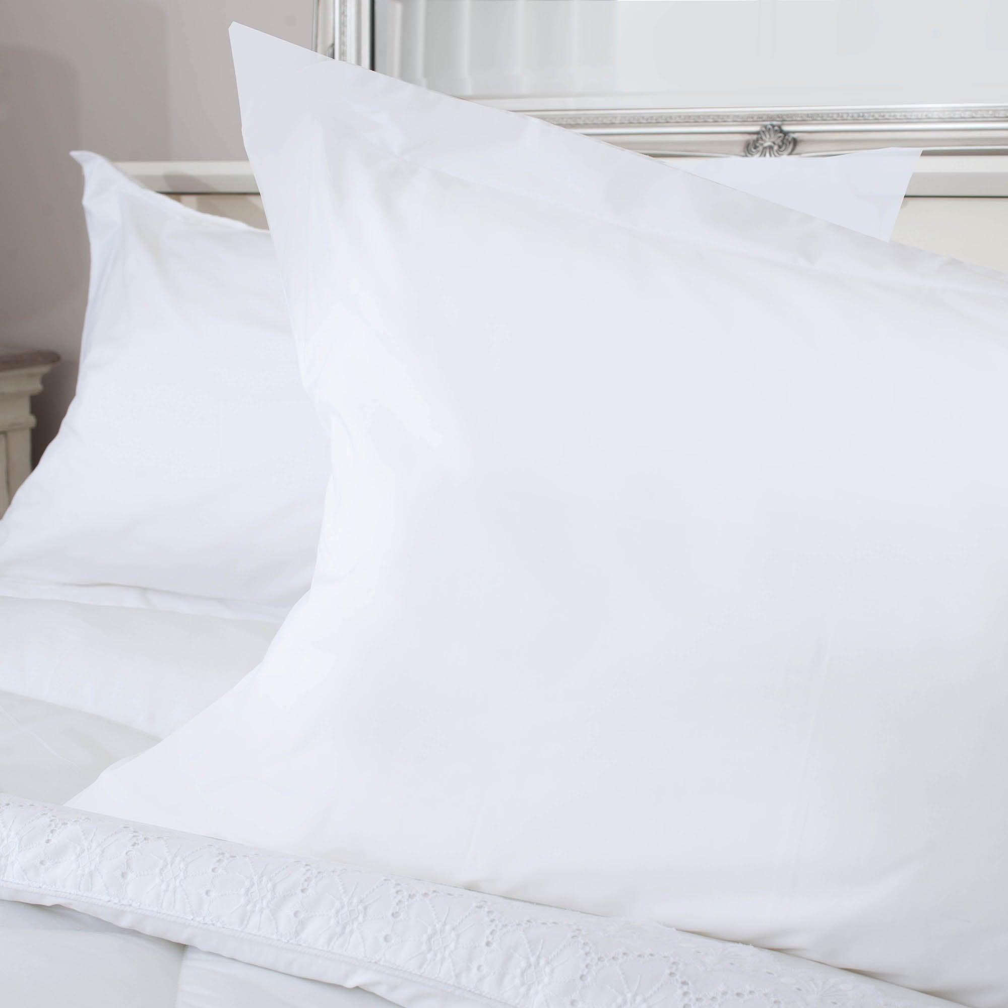 White Leighton Collection Oxford Pillowcase