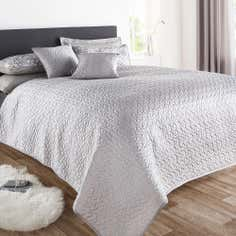 Silver Amber Collection Bedspread