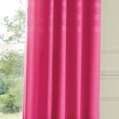 Pink Darcia Thermal Eyelet Curtains