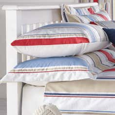 Blue Nautica Stripe Collection Oxford Pillowcase