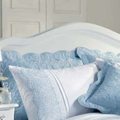 Blue Paige Collection Pillow Sham