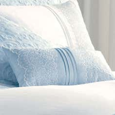 Blue Paige Collection Boudoir Cushion