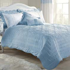 Blue Paige Collection Bedspread