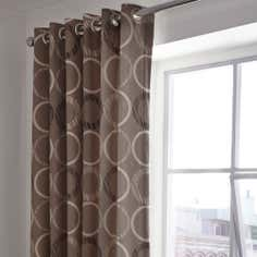 Chocolate Toronto Thermal Eyelet Curtains