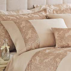 Gold Zetta Collection Housewife Pillowcase