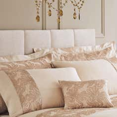 Gold Zetta Collection Oxford Pillowcase