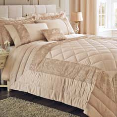 Gold Zetta Collection Bedspread