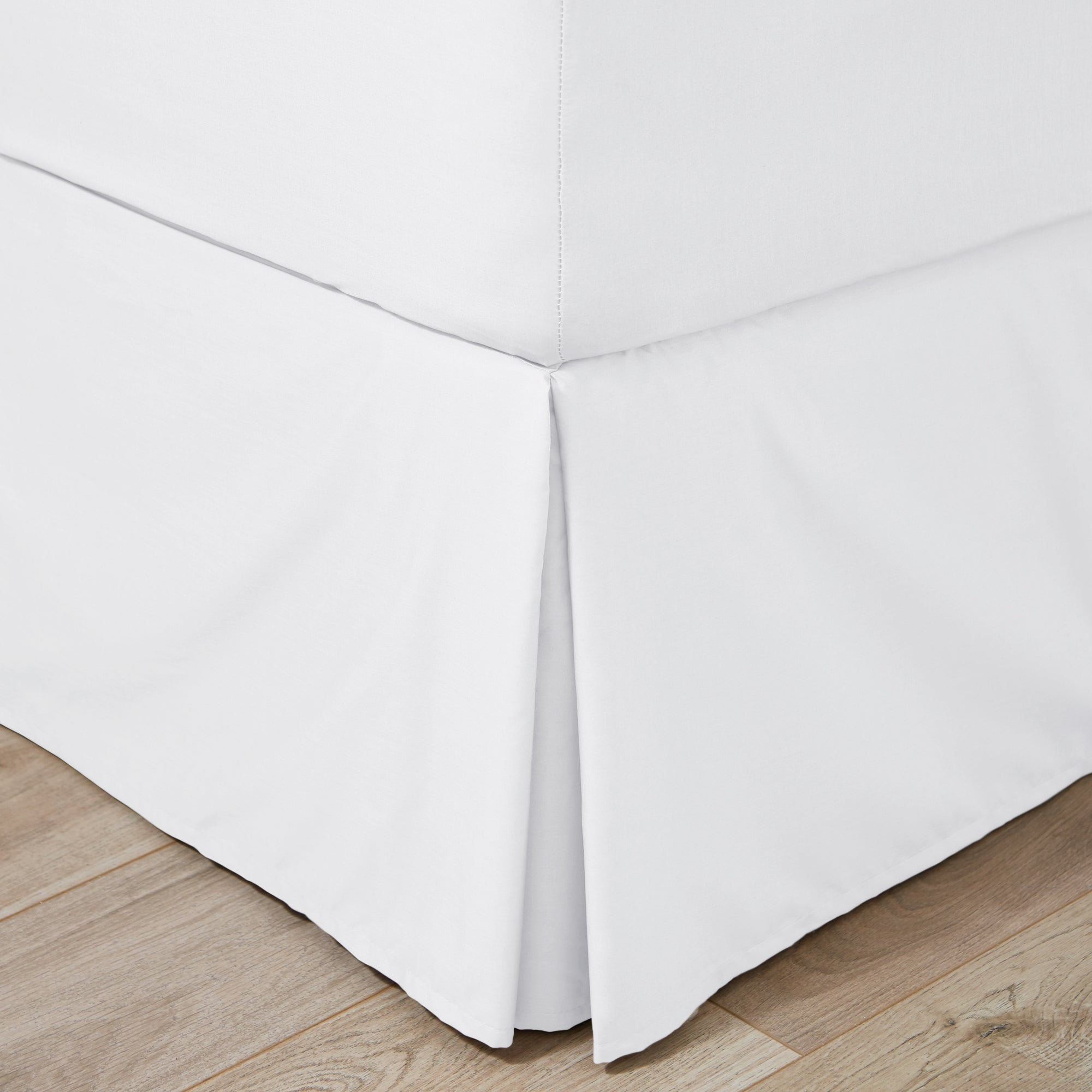 Easycare Plain Dye Collection Pleated Divan