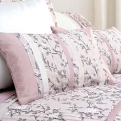 Dusky Pink Chinoiserie Collection Boudoir Cushion