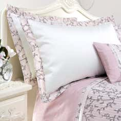 Dusky Pink Chinoiserie Collection Oxford Pillowcase
