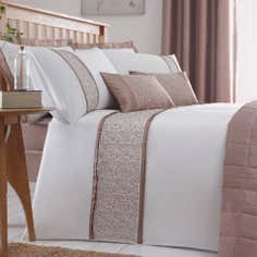 Taupe Mercury Collection Duvet Cover