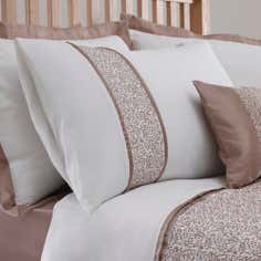 Taupe Mercury Collection Housewife Pillowcase