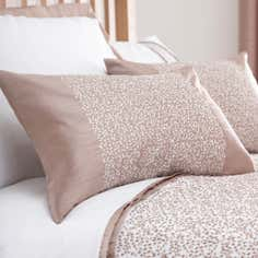 Taupe Mercury Collection Boudoir Cushion