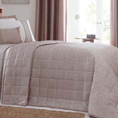Taupe Mercury Collection Bedspread